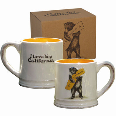 California Bear Hug Ceramic Mug - Oakland Museum of California Store