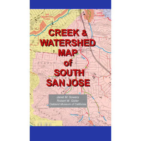 Creek & Watershed Map of South San Jose