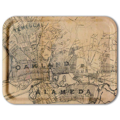 TV Tray: Oakland-Alameda 1884 - Oakland Museum of California Store