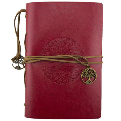 Tree of Life Journal - Red