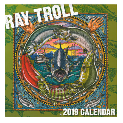 Ray Troll's 2019 Calendar - Oakland Museum of California Store