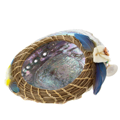 Father & Daughter Abalone Shell Basket