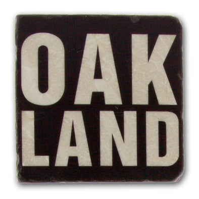 Oakland - Italian Marble Coaster - Oakland Museum of California Store