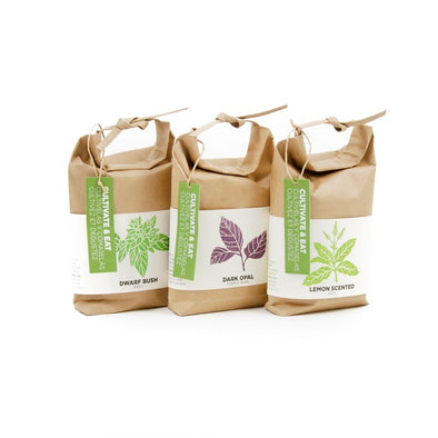 Cultivate & Eat Basil Growing Kits - Oakland Museum of California Store