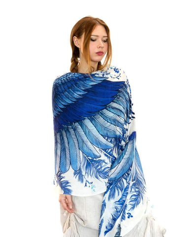 Wing Cotton Scarf
