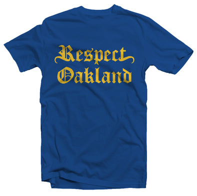 'DUBS' RESPECT OAKLAND CREW NECK T-SHIRT - Oakland Museum of California Store