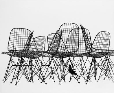 Wire Chairs Print - Oakland Museum of California Store