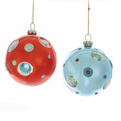 Retro Reflector Ball Ornament - Oakland Museum of California Store