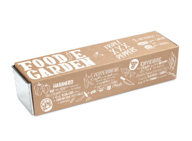 Foodie Garden Growing Kit Triple XXX Peppers - Oakland Museum of California Store