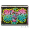 DJ Agana Graffiti Magnets - Oakland Museum of California Store