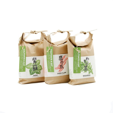 Traditional Japanese Herb Growing Kits - Oakland Museum of California Store