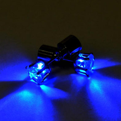 LED Diamond Stud Earrings