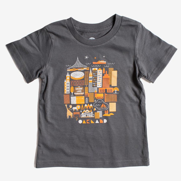 Oaklandish Toddler Oak Swirvington Tee