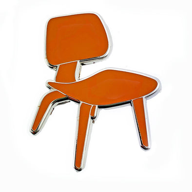 Eames 'Dining Chair Wood' Pin - Oakland Museum of California Store
