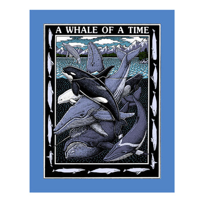 Whale of a Time- Ray Troll Youth Tee - Oakland Museum of California Store