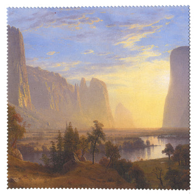 Albert Bierstadt Yosemite Valley Microfiber Cloth - Oakland Museum of California Store