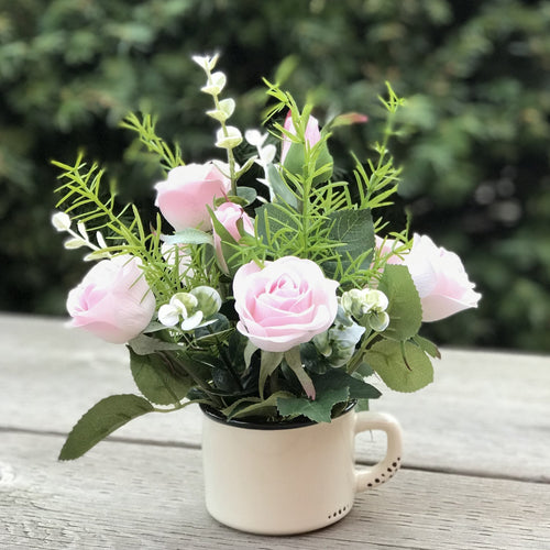 Cup of Roses - Decor Garden - SEO - Image