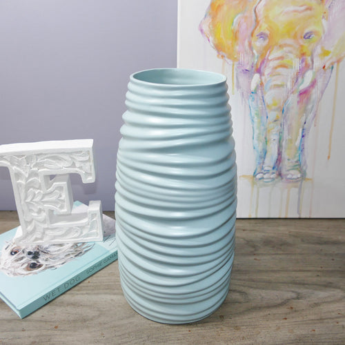Decor Garden - Western Vase Series - Western Table Vase - Light Blue