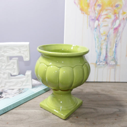 Decor Garden - Western Vase Series - Western Table Vase - Green