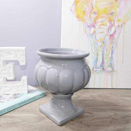 Decor Garden - Western Vase Series - Western Table Vase - Grey