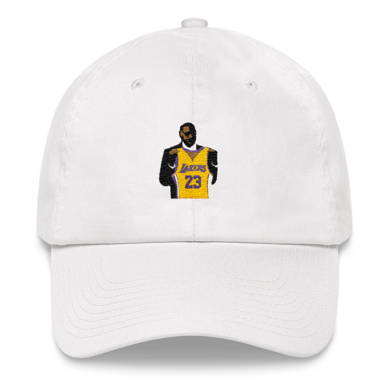 LAbron   King James  New Lakers Jersey Dad Hat – HD 8729d9a37