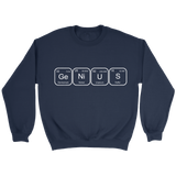 GearLogic - Science Jewelry & Science Shirts | Periodic Genius Sweatshirt