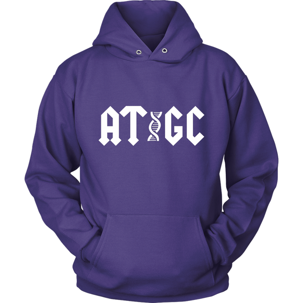 GearLogic - Science Jewelry & Science Shirts | ACDC ATGC Hoodie