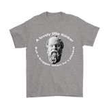 GearLogic - Science Jewelry & Science Shirts | Socrates A Lovely Little Thinker T-Shirt