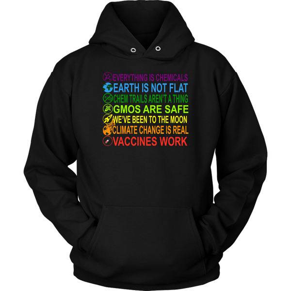 GearLogic - Science Jewelry & Science Shirts | Combat Bad Science (7 Shirt Types)