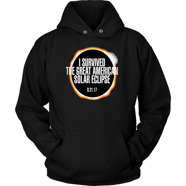 GearLogic - Science Jewelry & Science Shirts | I Survived the Solar Eclipse Hoodies