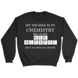 GearLogic - Science Jewelry & Science Shirts | Mad Scientist Degree Sweatshirt
