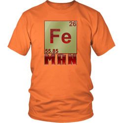 GearLogic - Science Jewelry & Science Shirts | Periodic Iron Man T-Shirt