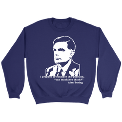 GearLogic - Science Jewelry & Science Shirts | Turing Quote Sweatshirt