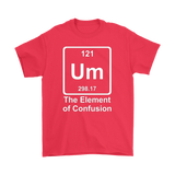 GearLogic - Science Jewelry & Science Shirts | Element of Confusion T-Shirt