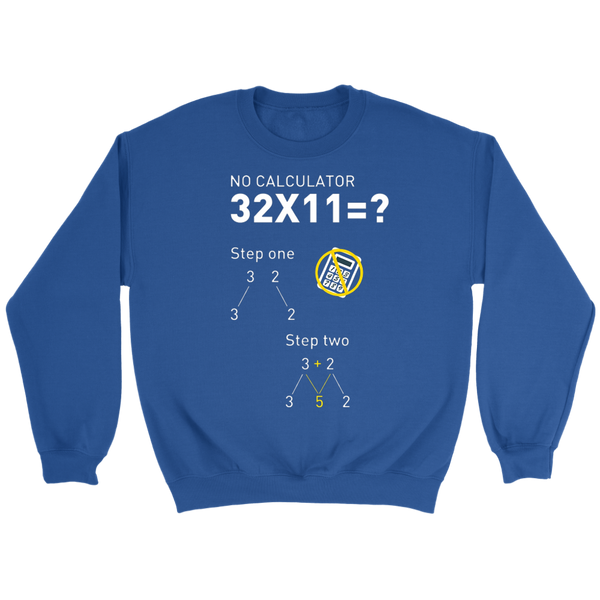 GearLogic - Science Jewelry & Science Shirts | multiply by 11 Sweatshirt