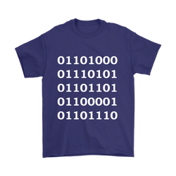 GearLogic - Science Jewelry & Science Shirts | Binary Human T-Shirt
