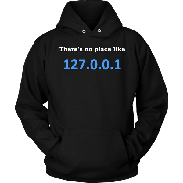 GearLogic - Science Jewelry & Science Shirts | No place like home IPv4 Hoodie