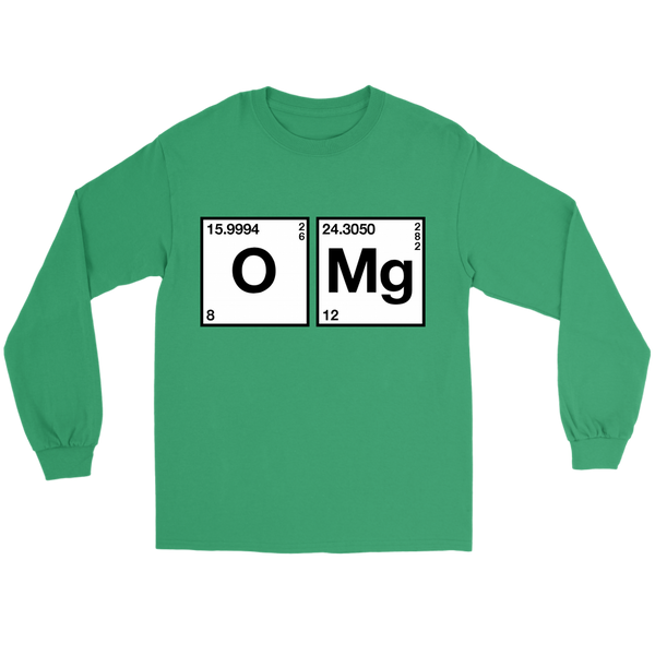 GearLogic - Science Jewelry & Science Shirts | Chemistry OMG Long Tee
