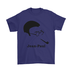 GearLogic - Science Jewelry & Science Shirts | Jean-Paul Sartre Silhouette T-Shirt