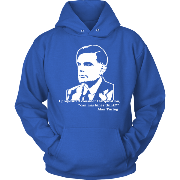 GearLogic - Science Jewelry & Science Shirts | Turing Quote Hoodie