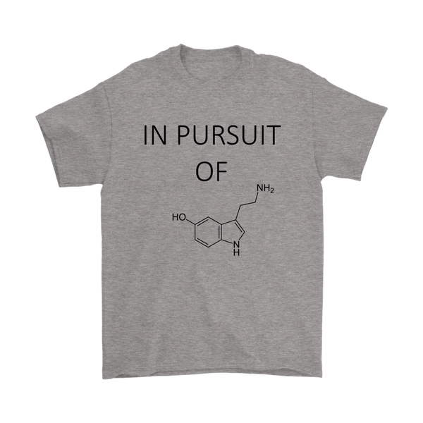 GearLogic - Science Jewelry & Science Shirts | In Pursuit of Serotonin T-Shirt