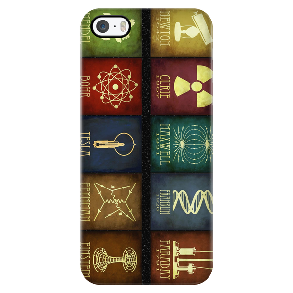 GearLogic - Science Jewelry & Science Shirts | Great Scientists Phone Case (Galaxy/iPhone)