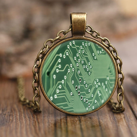 Circuit Pendant Bracelet | Science Jewelry