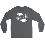 GearLogic - Science Jewelry & Science Shirts | I lost an Electron Long Tee