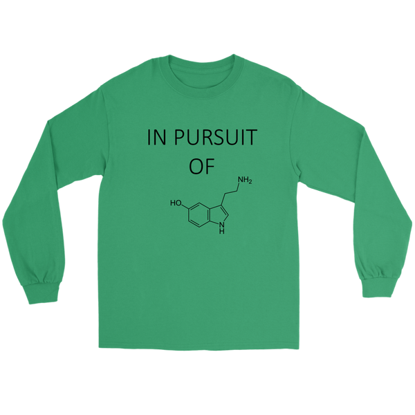 GearLogic - Science Jewelry & Science Shirts | In Pursuit of Serotonin Long Tee