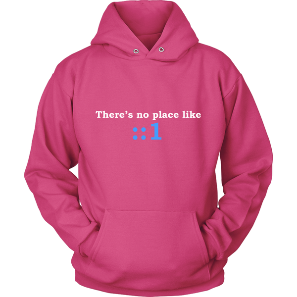 GearLogic - Science Jewelry & Science Shirts | There's No Place Like Home IPv6 Hoodie