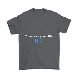 GearLogic - Science Jewelry & Science Shirts | There's No Place Like Home IPv6 T-Shirt