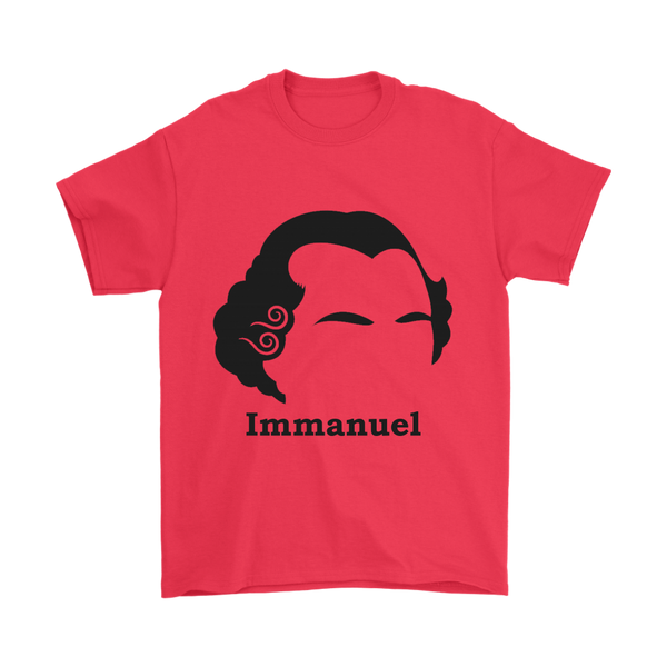 GearLogic - Science Jewelry & Science Shirts | Immanuel Kant Silhouette T-Shirt
