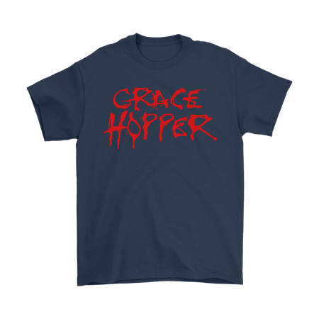 Grace Hopper Alice Cooper Science Long Tee