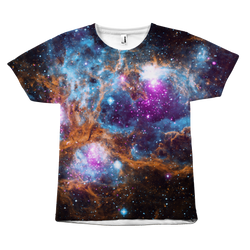 GearLogic - Science Jewelry & Science Shirts | Outer Space All-Over Print T-Shirt